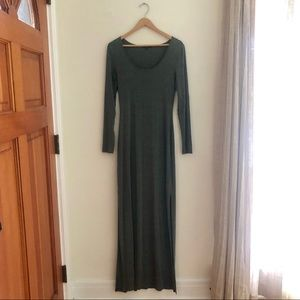 Soft and comfortable maxi dress